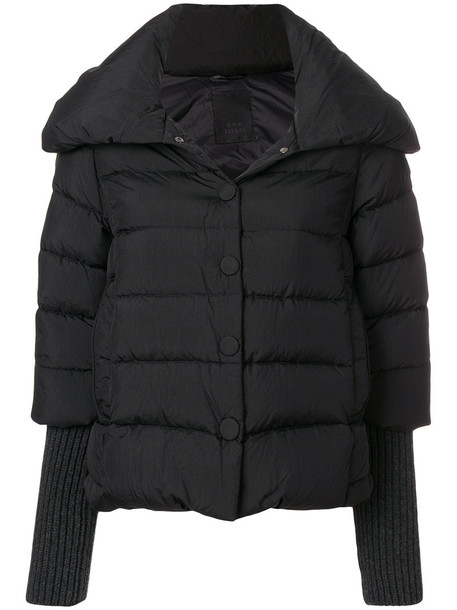 jacket short women black wool