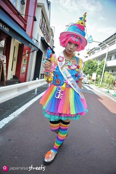 skirt dope kawaii style neon