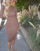dress,urgent,tan,nude,casual,plus size,plus size dress,nude dress