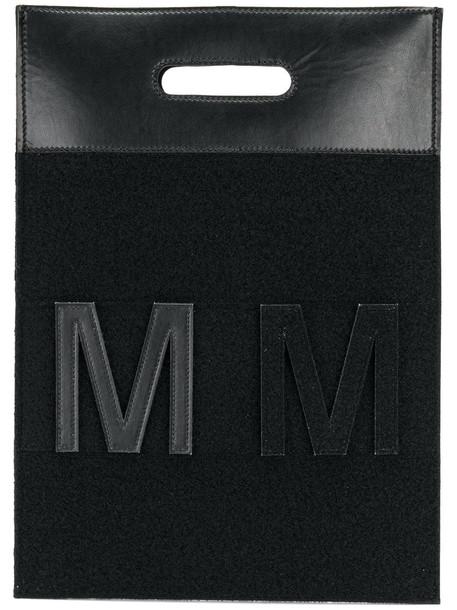 Mm6 Maison Margiela women bag tote bag black