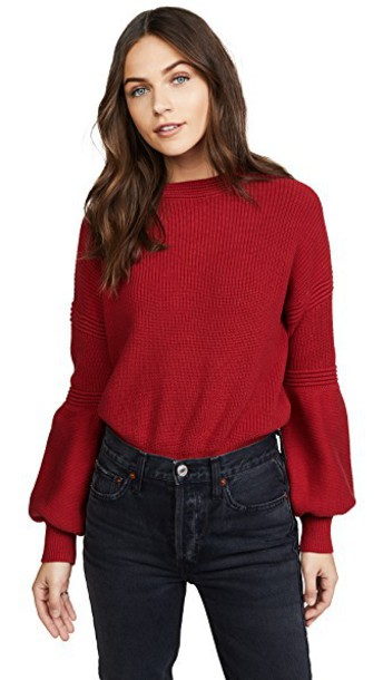 tHE FIFTH LABEL sweater red