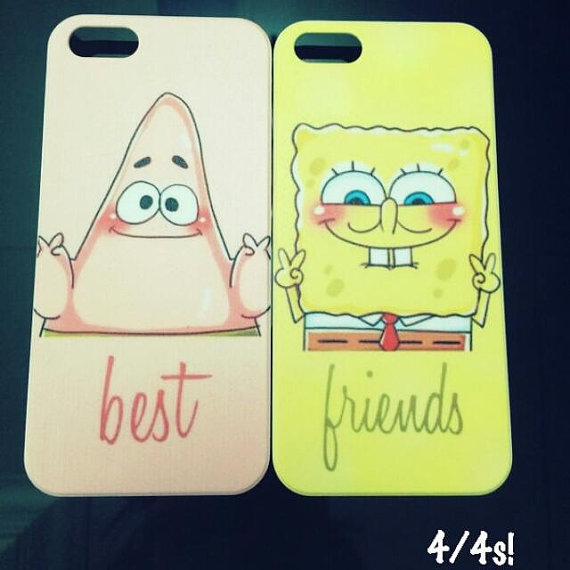 Cute patrick and spongebob best friends case by shopsatisfaction