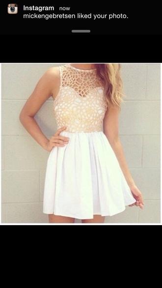 dress embroidered dress skater dress white dress