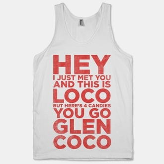 tank top mean girls glen coco