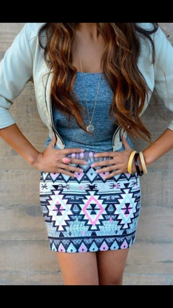skirt t-shirt jewels jacket pencil skirt shirt jewelry