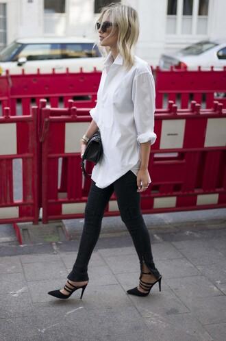 lisa rvd blogger shirt shoes bag