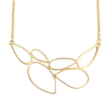 Rain Necklace in Gold - Foxy Originals