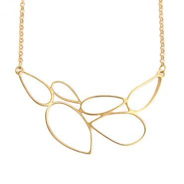 Rain Necklace in Gold - Foxy Originals