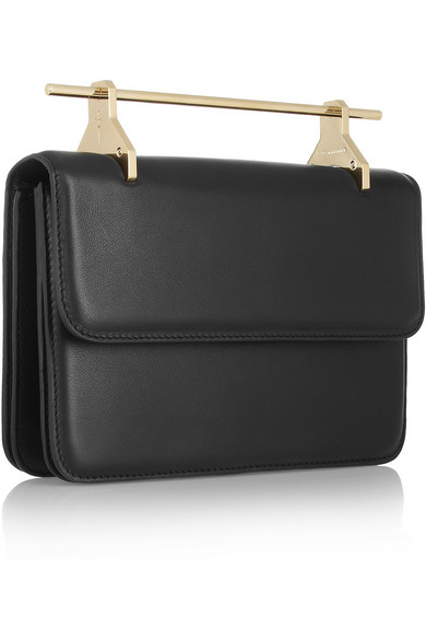 M2Malletier | La Fleur Du Mal leather clutch | NET-A-PORTER.COM