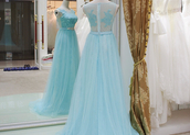 prom dress,blue prom dress,prom dresses 2015,party dress,bridesmaid,wedding,sweep train dresses