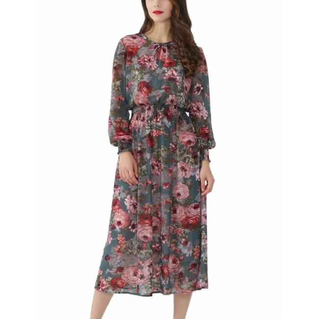 'Blossom' Floral Vintage Dress