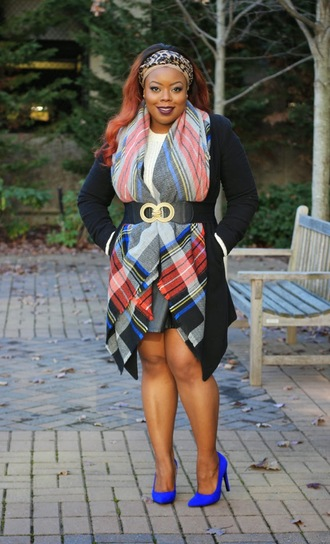 naja diamond blogger skirt blanket scarf stilettos belt curvy coat sweater scarf shoes