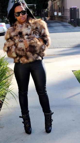 coat pants shoes