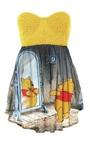 WINNIE THE POOH DRESS BIG GIRLS on The Hunt