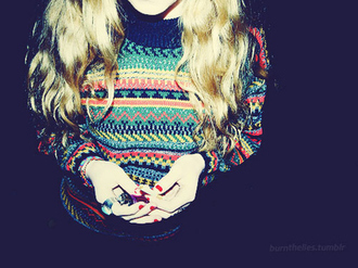 sweater low sweater pullover vintage vintage pullover blue pink yellow green knit knitwear knitted sweater ethnic ethnic sweater ethnic pattern ethnic print aztec aztec sweater tribal pattern tribal sweater winter outfits summer bag