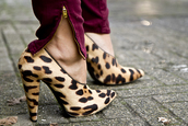 leopard print,shoes