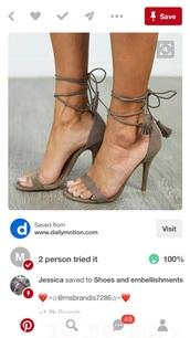 shoes,tassel,heels