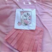 shirt,rose,pink,kawaii,japanese shirts,japanese