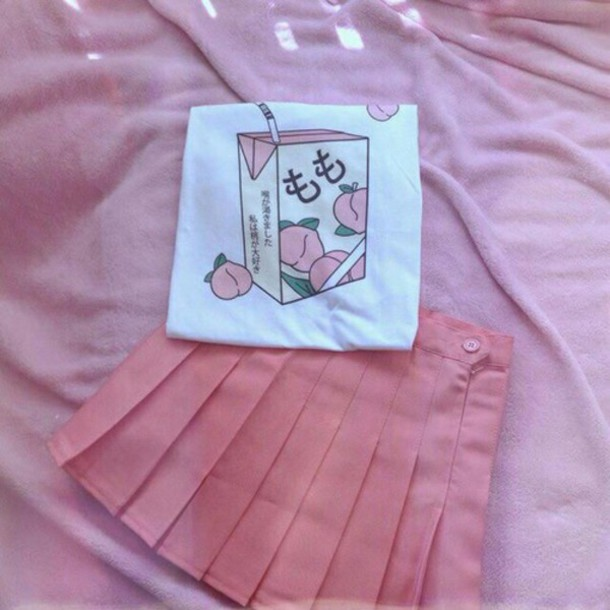 shirt rose pink kawaii japanese shirts japanese