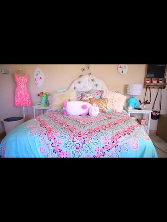 home accessory bedding bedroom girly