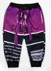 leggings,fashion,style,trendy,sweatpants,purple,cool,sporty,comfy,ogvibes