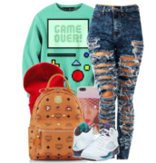 jeans,bag,sweater,shoes