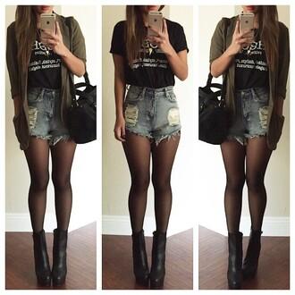 shorts denim denim shorts rippes shorts