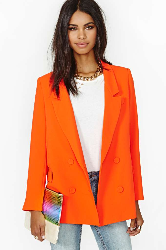 Line & Dot Till The Sun Blazer in  Clothes Jackets   Coats at Nasty Gal