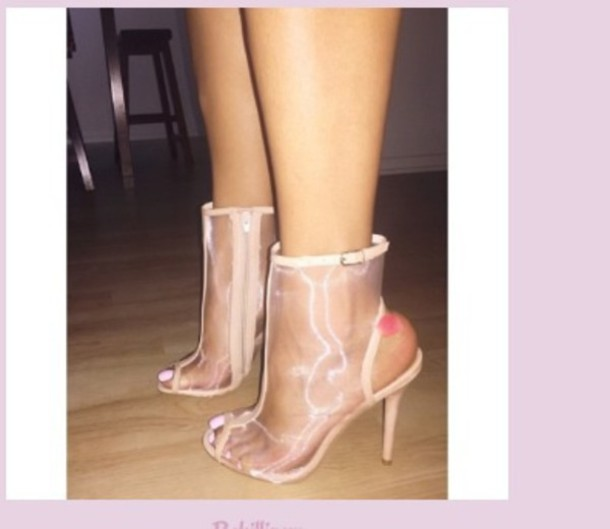 shoes nude nude high heels mesh slingback pumps open back open toes