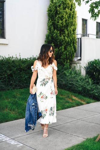 crystalin marie blogger dress jacket shoes bag