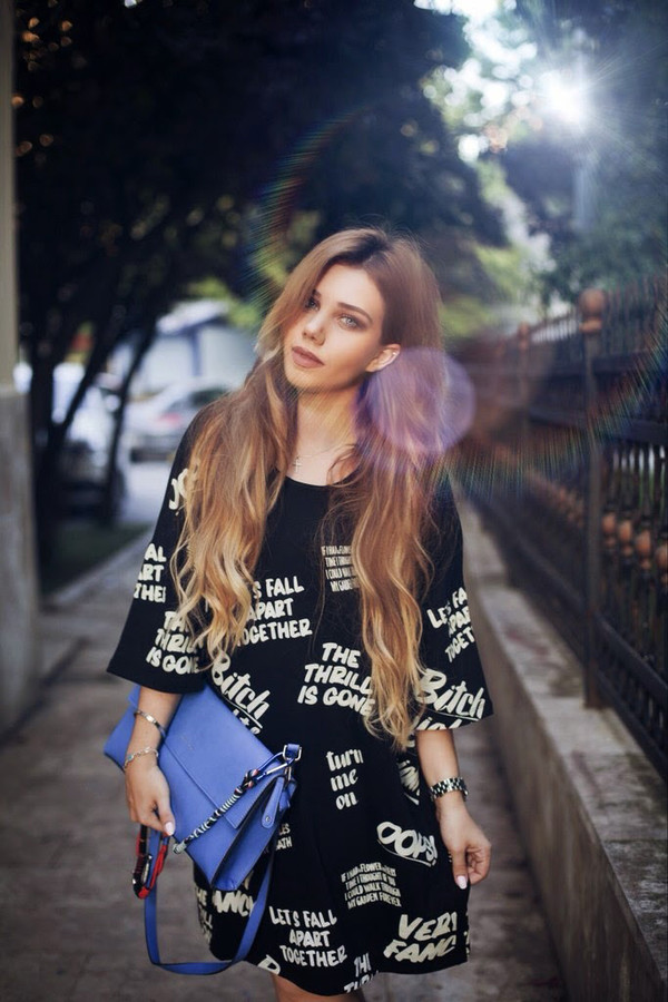 t-shirt dress swag streetstyle stylemoi summer outfits dress