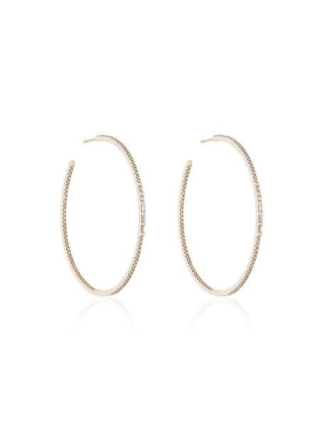 Shay women earrings hoop earrings gold grey metallic jewels