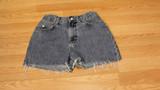 Le' blue cut off shorts (size