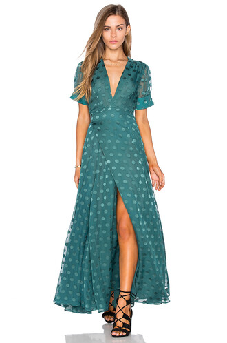dress wrap dress teal