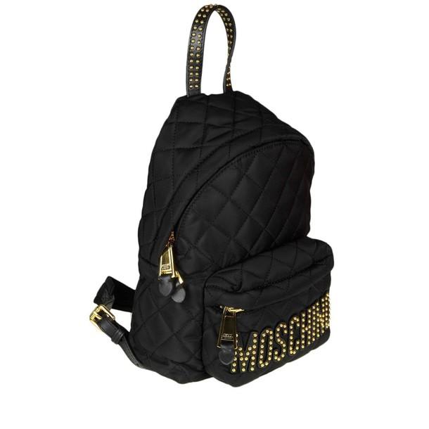 Moschino women bag backpack shoulder bag black
