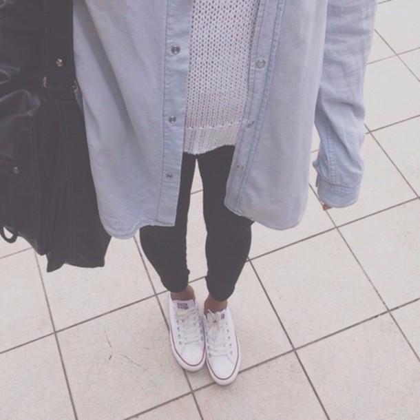 jeans outfit style jumpsuit jacket