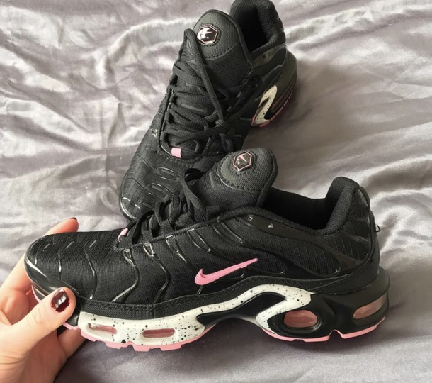 shoes nike air max tn pink black