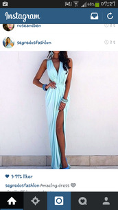 blue dress,dress,light blue,cocktail dress,elegant dress,prom dress,prom,prom gown,beautiful,beach,beach dress,ocean blue,ocean blue dress,shoes,blue,sexy,maxi,maxi dress,slit,summer,elegant,tan,long dress,fashion,outfit,fashion inspo,light blue deep v neck long,blue pastel,aqua dress,cut-out dress,aqua,formal dress,evening dress,blue long evening dress,mint dress,glamour,glamgerous,luxury,baby blue,summer dress,flowy