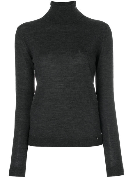 Jil Sander Navy jumper women wool grey sweater