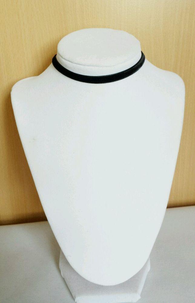 Black Velvet 7mm Choker Necklace   eBay