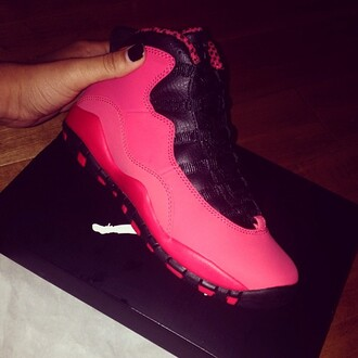 shoes jordans pink sneakers india westbrooks swag black 11's cute trill new hot pink jays jordon 11s