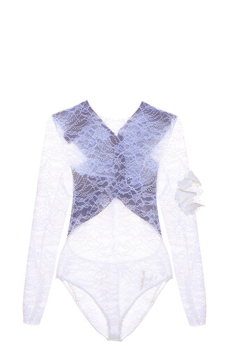bodysuit lace bodysuit lace white underwear