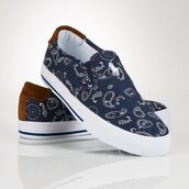 shoes,paisley,bandana print,blue,formal,sneakers,ralph lauren femme