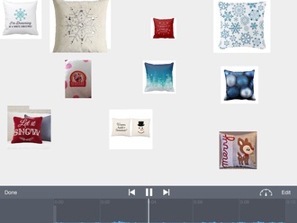 home accessory all of the pillows