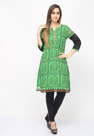 top long kurits designer cotton kurtis