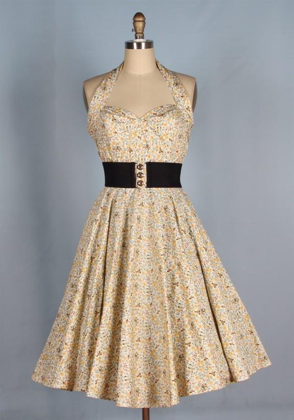 classic 40's dress