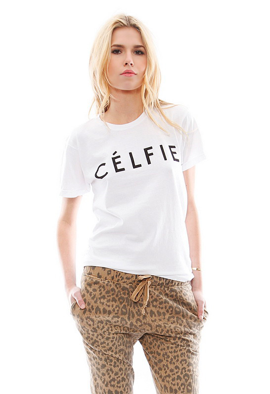 Sincerely, Jules Celfie T Shirt | SINGER22.com