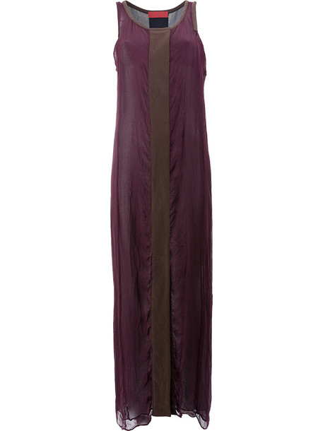 dress maxi dress maxi women silk purple pink