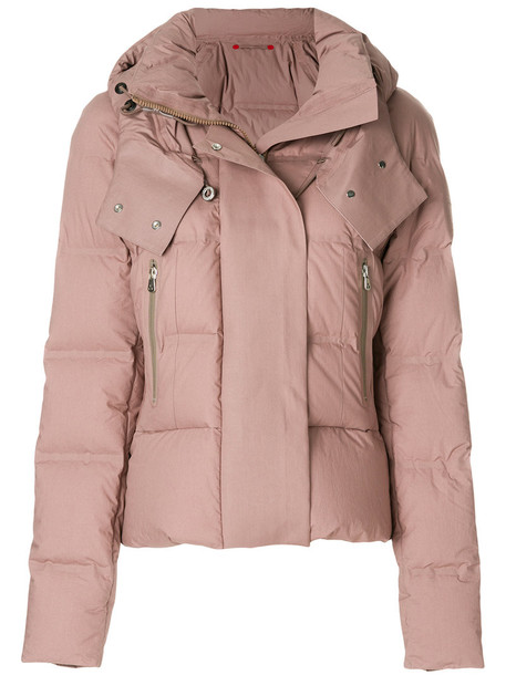 Peuterey jacket puffer jacket women cotton brown