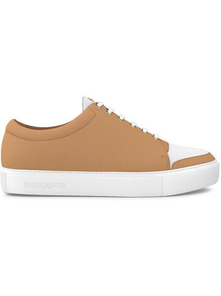 SWEAR women sneakers leather nude shoes
